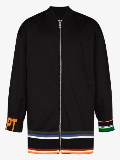 padded bomber jacket