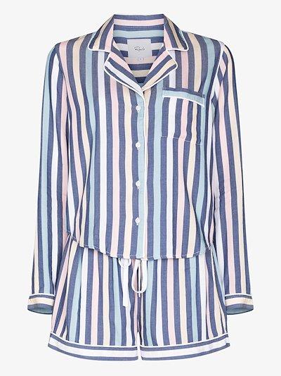 Kellen Striped Cotton Pyjamas
