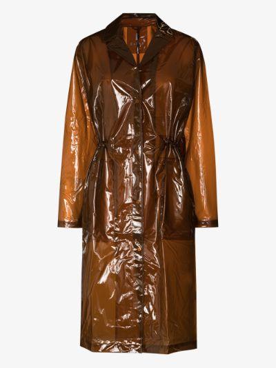 Transparent String overcoat