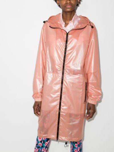 Ultralight zip-up raincoat