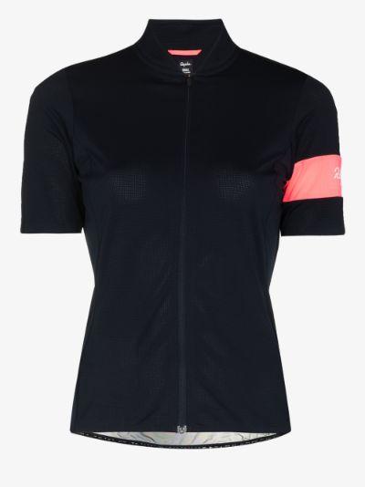 Flyweight cycling jersey