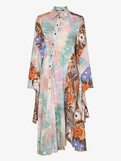 Bonnie twisted panel shirt dress