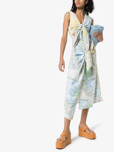 Holly floral midi dress