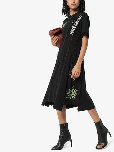Mona shell print dress
