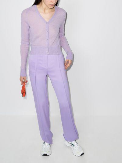 '60s semi-sheer cardigan