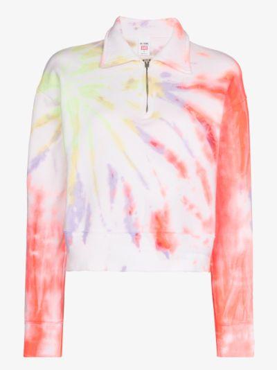 '70s tie-dye sweatshirt