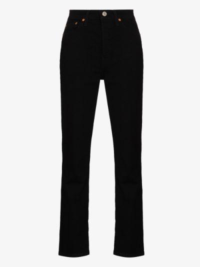 '80s straight leg jeans
