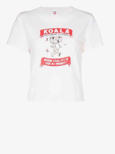 Adopt a Koala print T-shirt