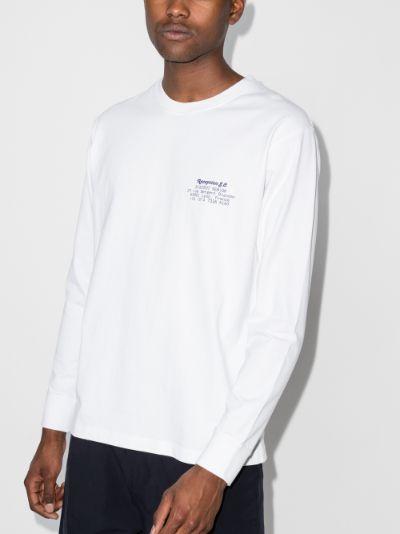 Bistrot Senior long sleeve cotton T-shirt
