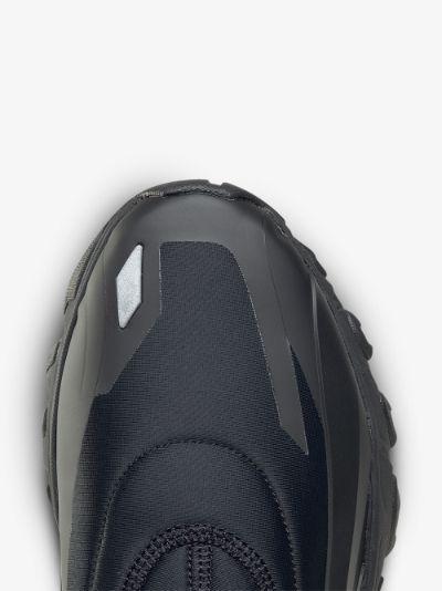 black DMX Trail Hydrex sock sneakers