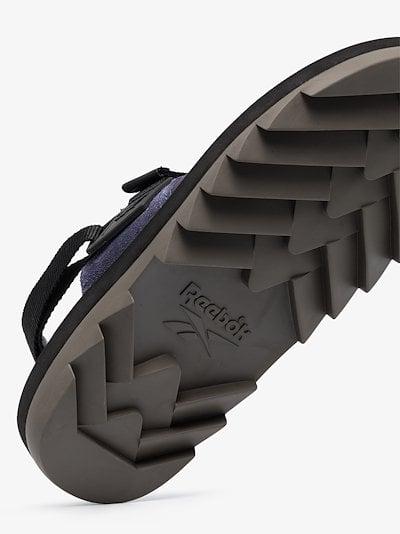 purple Beatnik sandals
