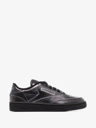 X Maison Margiela black Project 0 Club C sneakers
