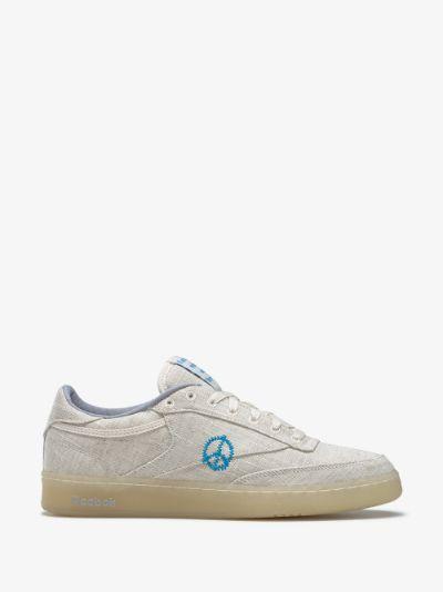 X STORY mfg. Beige Club C 85 sneakers