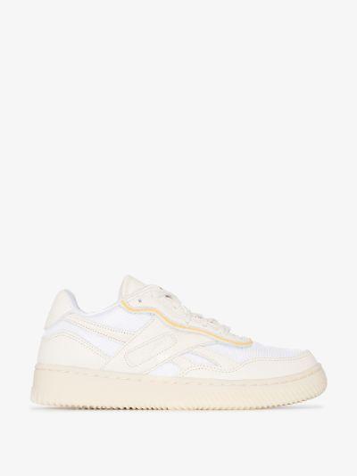 White Dual Court II Sneakers