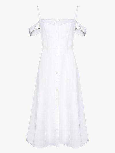 Allegro linen midi dress