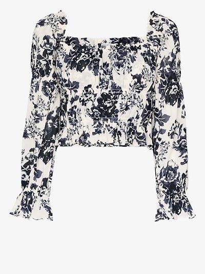 Amarena floral print blouse