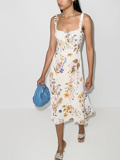 Camari floral print midi dress