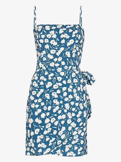 Canal floral print mini dress