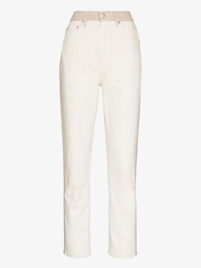 Cynthia high-waisted jeans