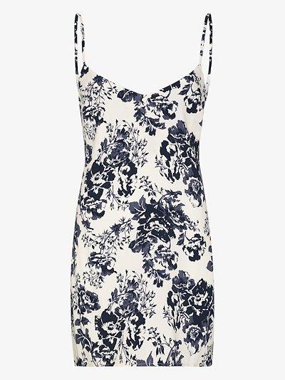 Dempsey floral slip dress