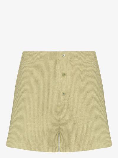 Dixon waffle knit shorts