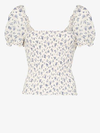 Jess smocked blouse