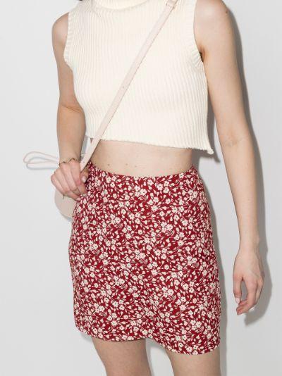 Mara floral print skirt