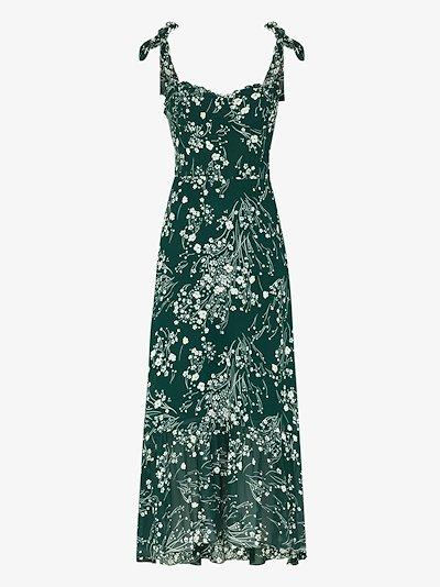 Nikita floral print midi dress