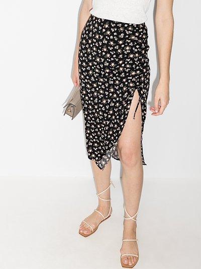 Prose floral print skirt