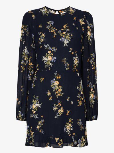 Resnick floral print mini dress