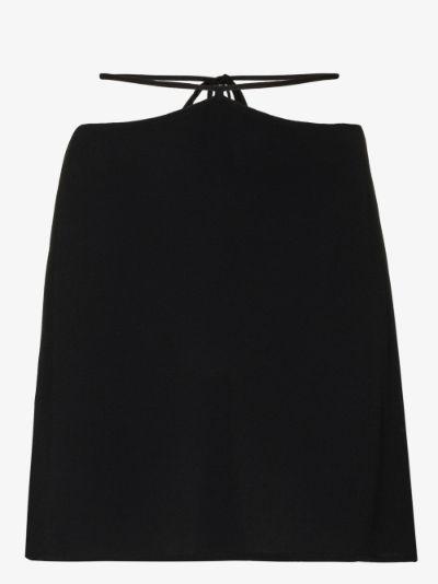 Sabrina strap waist mini skirt