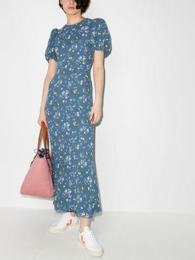 Sandy Beth floral midi dress