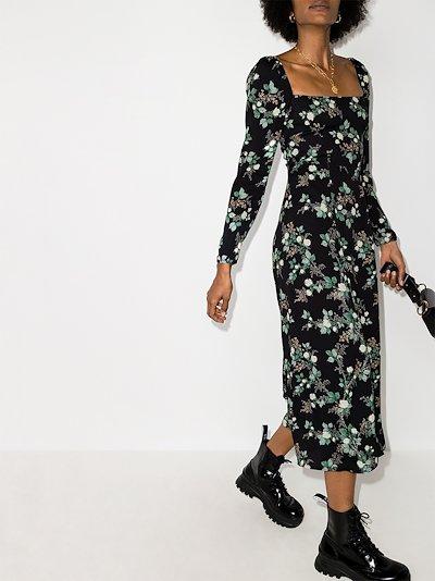 Sigmund floral midi dress
