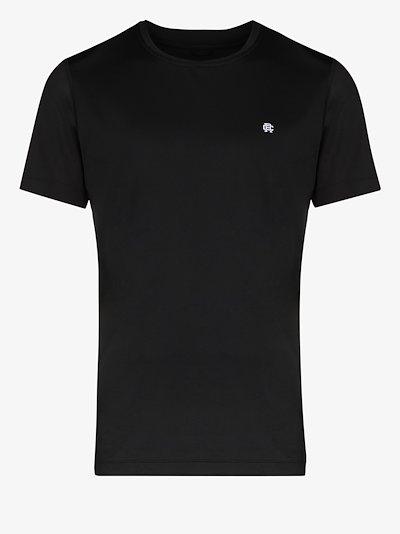Hybrid running logo print T-shirt
