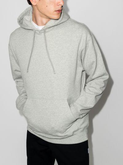 midnight terry cotton hoodie