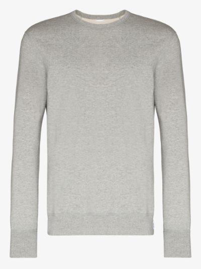 midweight terry cotton sweatshirt