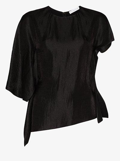 Evie crew neck blouse