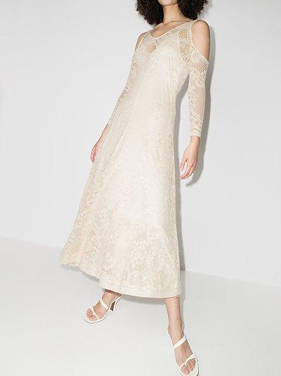 Frances cold shoulder lace dress