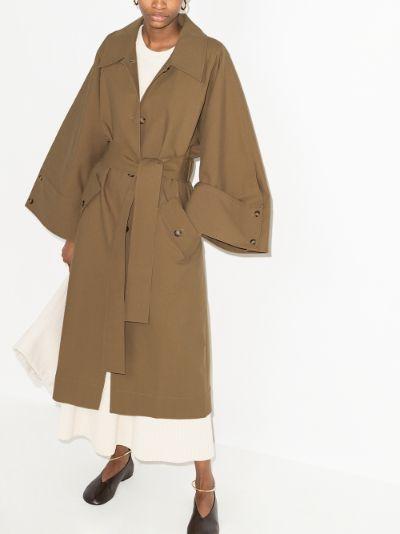 Hadley cotton trench coat