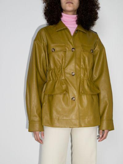 Keiko faux leather jacket