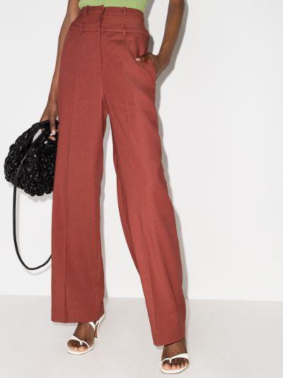 Laila straight leg trousers