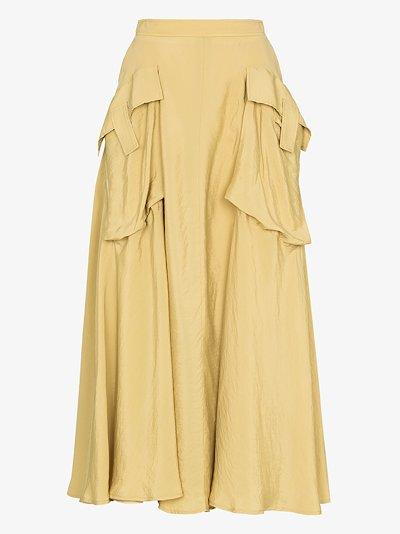 lena pocket detail skirt