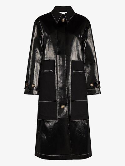 Logan patent raincoat