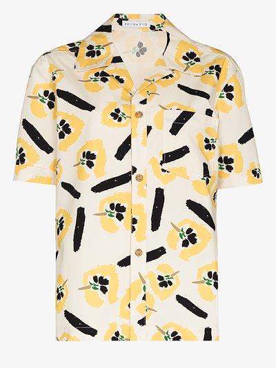 Marty floral print short sleeve shirt
