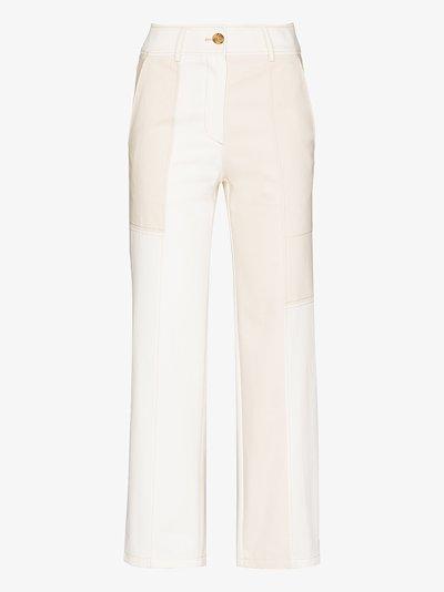 Mavis patchwork trousers