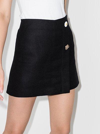 Nina A-line mini skirt