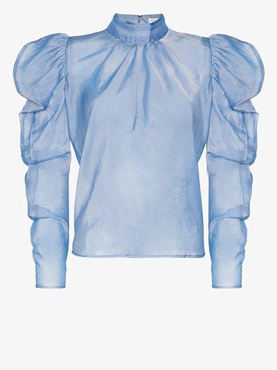 sofia sheer voile blouse