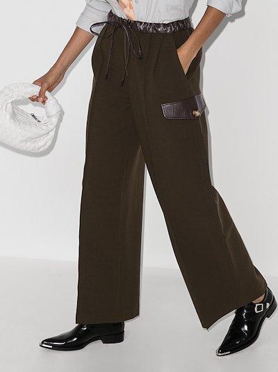 Vera wide leg trousers