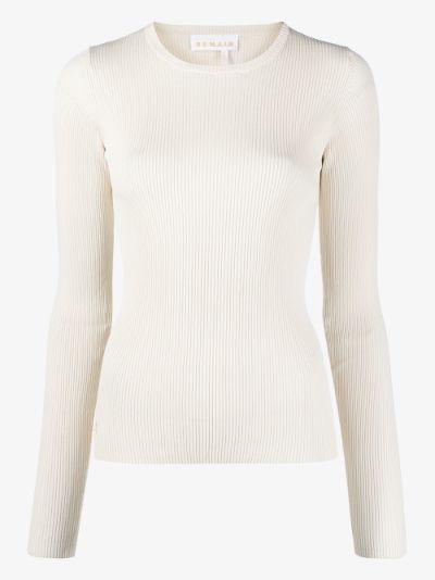 Basel cutout back sweater