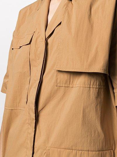 Liane short sleeve shirt dress